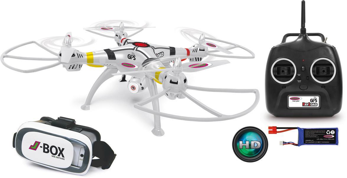 JAMARA Quadrocopter mit Kamera, »Payload GPS VR...