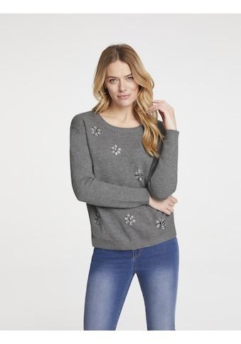 Pullover mit Schmucksteinen kaufen