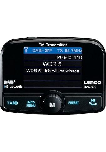 Lenco »DAC - 100« Autoradio (Digitalradio (DAB+),FM - Transmitter,Automatische Senderverfolgung) kaufen