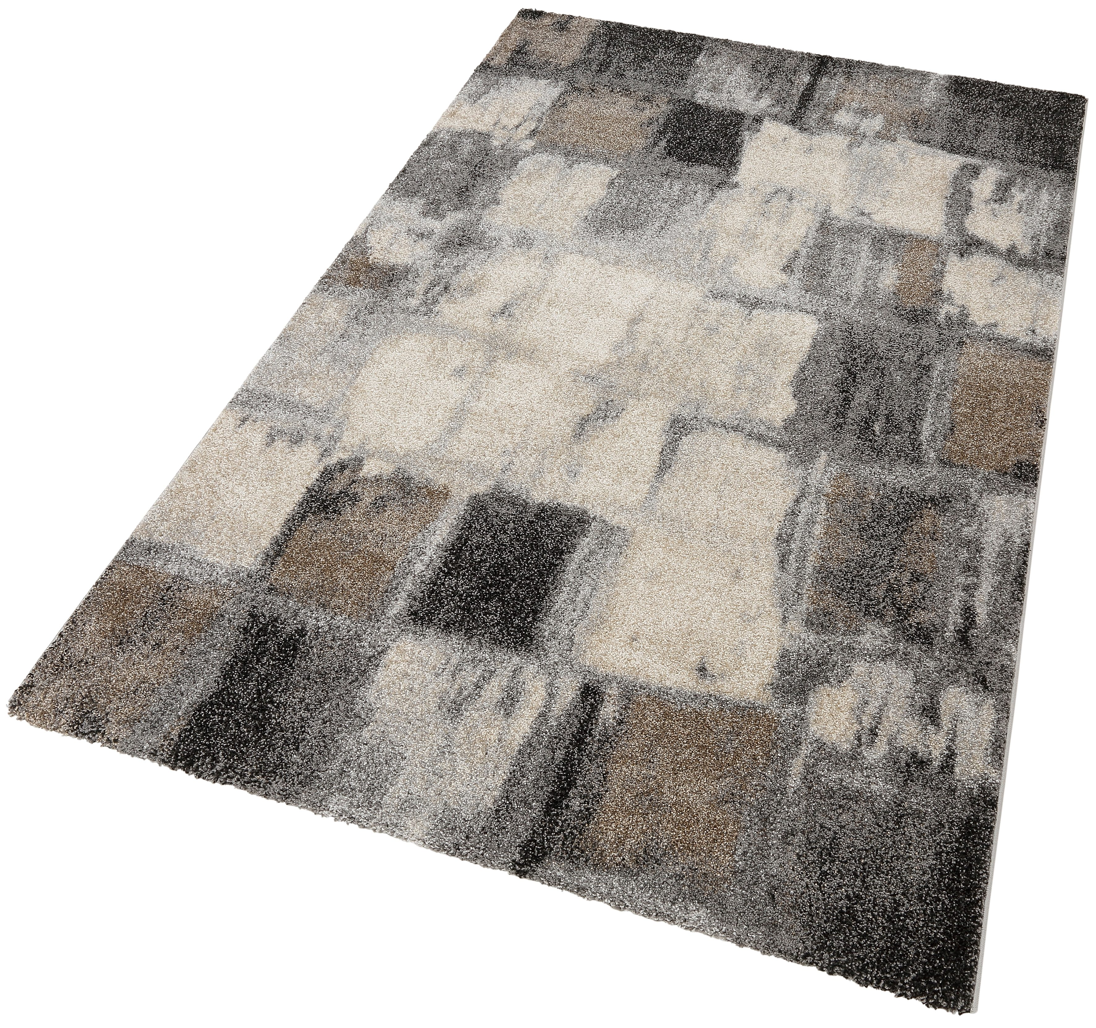 Teppich ELEGANT MOSAIC merinos rechteckig Höhe 18 mm maschinell gewebt