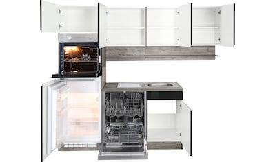 HELD MÖBEL Winkelküche »Virginia«, ohne E-Geräte, Stellbreite 230/190 cm kaufen