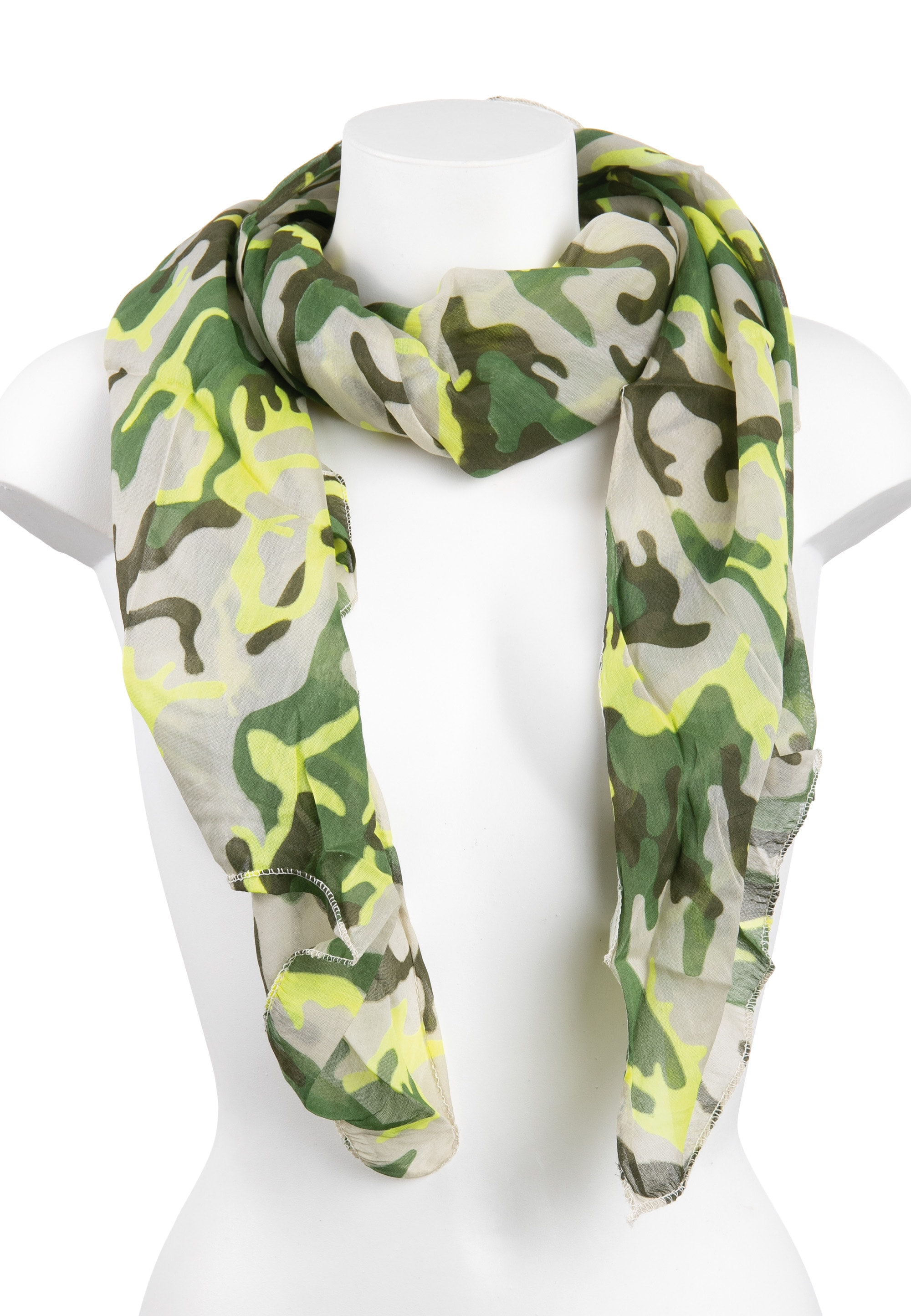 cassandra -  Schal, im angesagten Military-Design