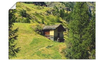 Artland Wandbild »Zermatt«, Berge, (1 St.), in vielen Größen & Produktarten - Alubild... kaufen