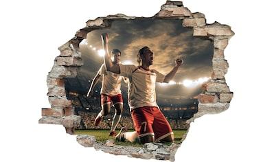 queence Wandtattoo »Fußball Jubel« kaufen