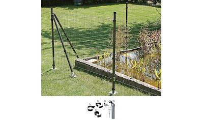 GAH Alberts Zaunpfosten »Verbinder Fix-Clip Pro®«, 2-seitig für Ø 6x81 cm, zum... kaufen