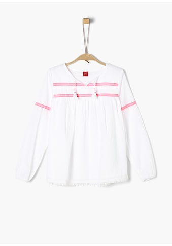 s.Oliver Batist/Webware - Bluse_für Mädchen kaufen