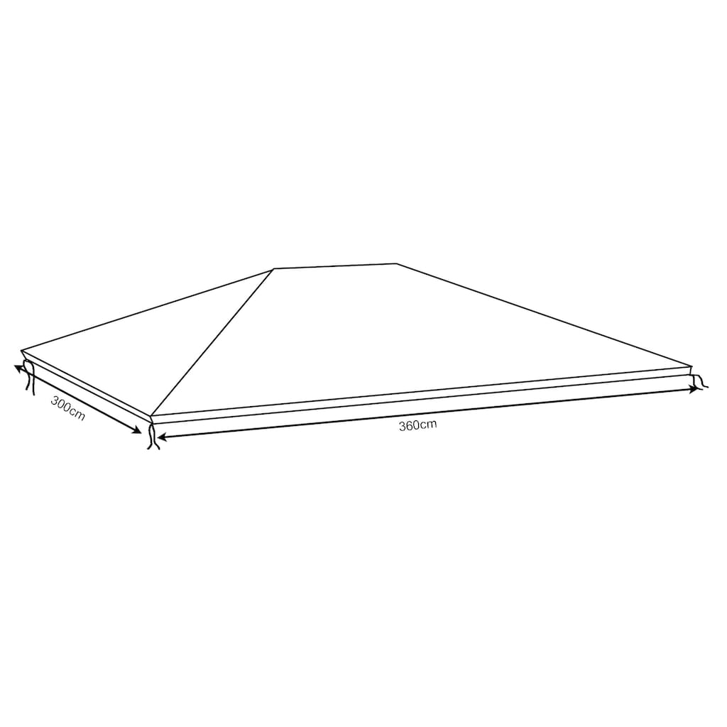 Quick Star Pavillon-Schutzhülle »Barcelona 2«, für 360x300 cm