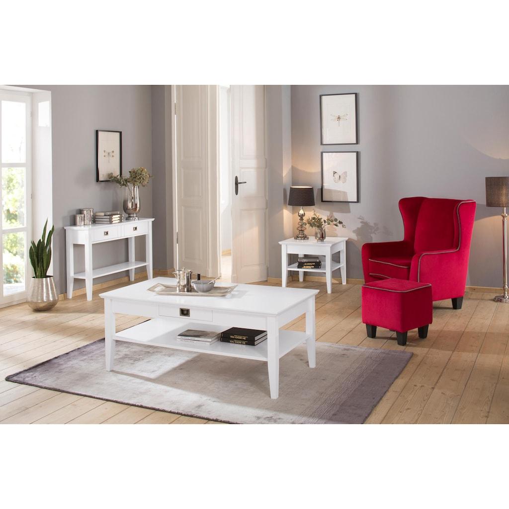 Home affaire Couchtisch »Piano«, mit 1 Schublade, Breite 130 cm