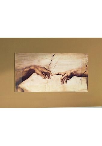 Home affaire Wandbild »Hände«, von Michelangelo, 100/50 cm kaufen