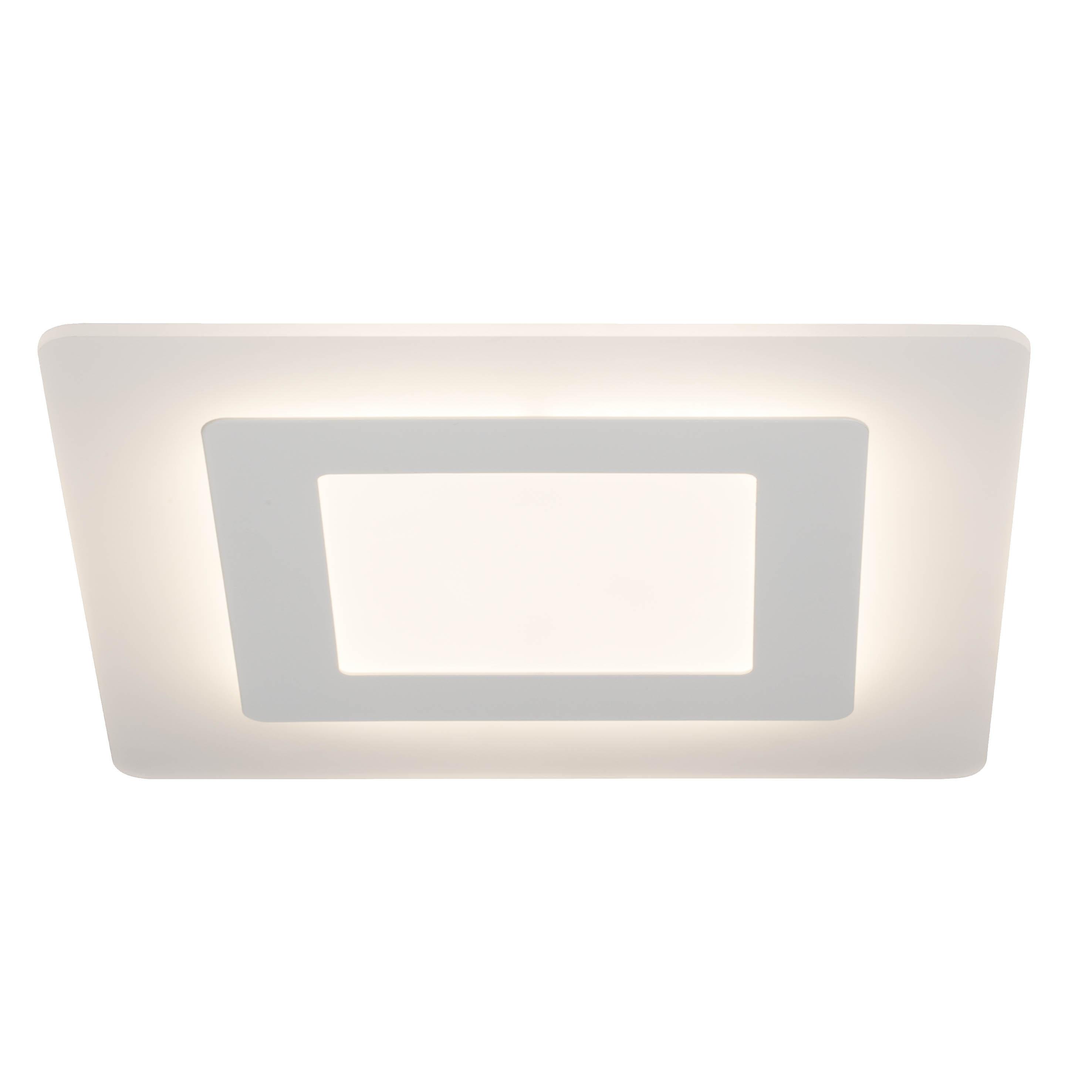 AEG Xenos LED Deckenleuchte 35x35cm weiß