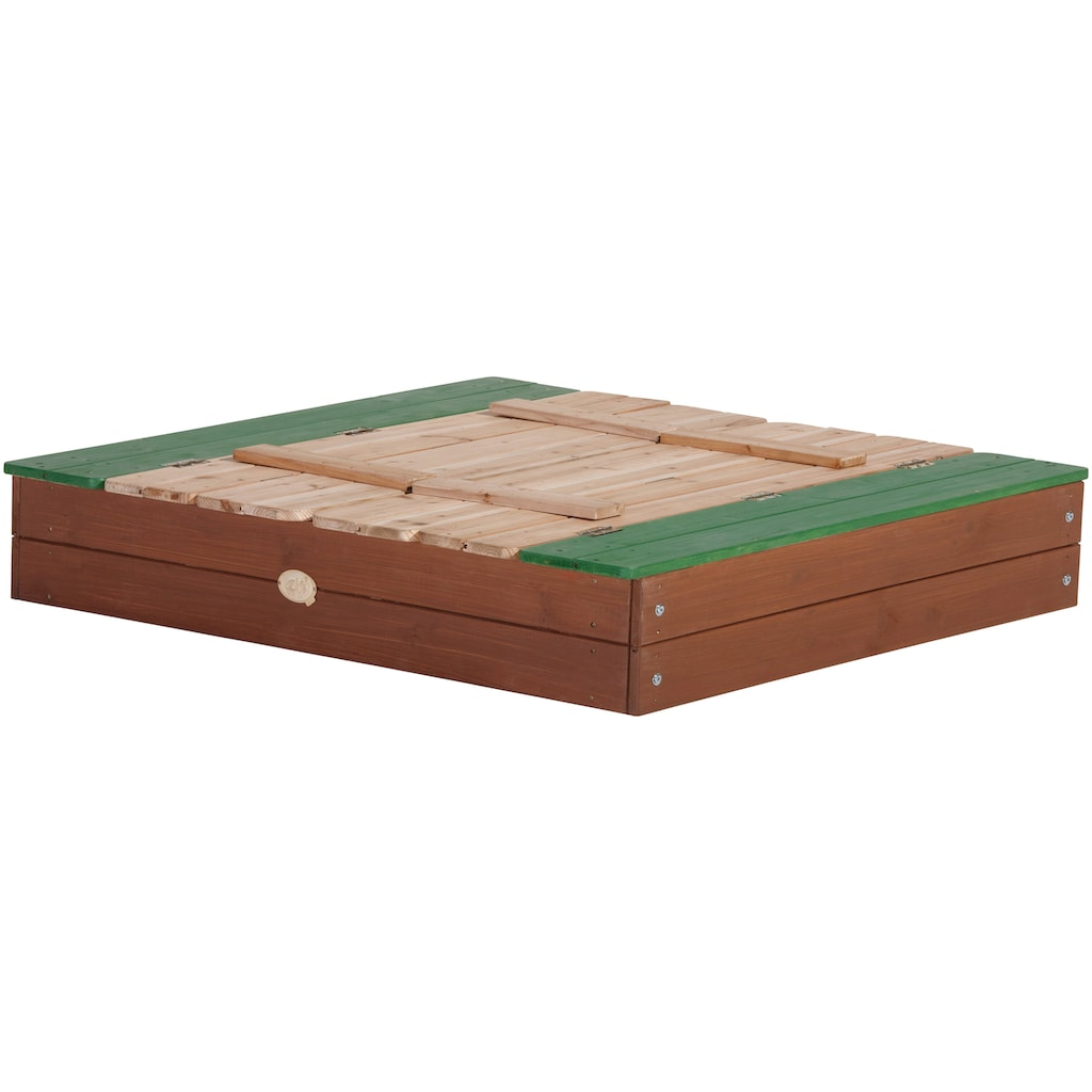 AXI Sandkasten »Ella XL«, BxLxH: 120x120x20 cm