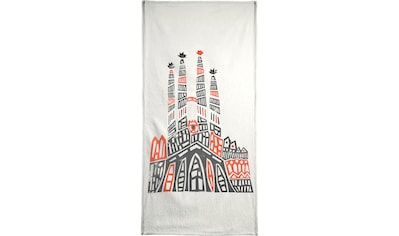 Juniqe Handtuch »Sagrada Familia«, (1 St.), Weiche Frottee-Veloursqualität kaufen
