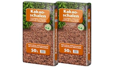 UNIVERSAL PFLANZEN Kakaoschalen zur Abdeckung, 2x50 Liter kaufen