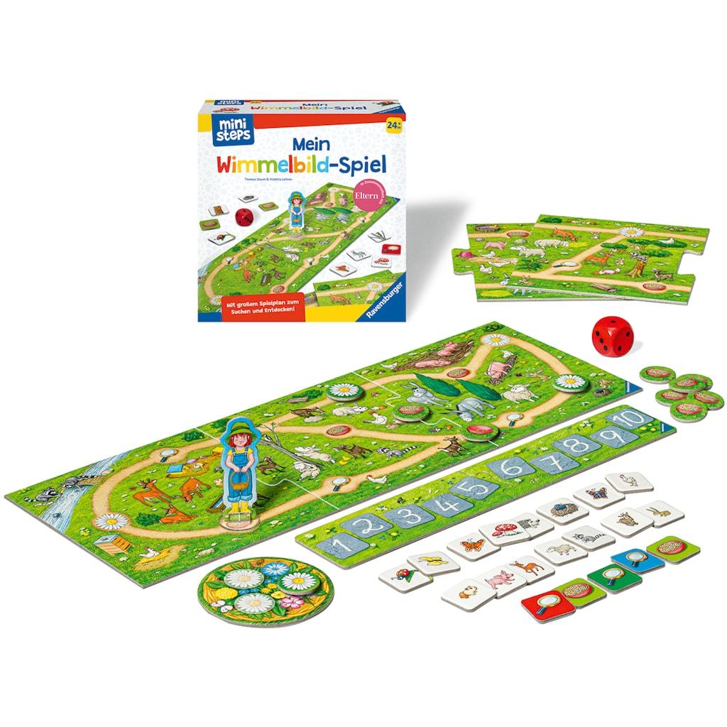 Ravensburger Spiel »ministeps® Mein Wimmelbild-Spiel«, Made in Europe, FSC® - schützt Wald - weltweit