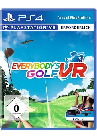 Everybody's Golf VR PlayStation 4 kaufen