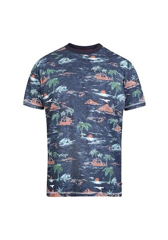 Duke Clothing T-Shirt »Herren Chester mit Hawaiimuster, Übergrößen« kaufen