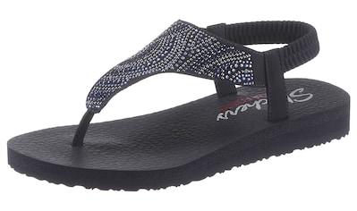 Skechers Sandale »Meditation - New Moon«, mit Gummizug für einen guten Halt kaufen