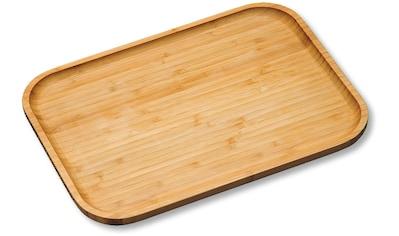 KESPER for kitchen & home Servierplatte Bambus, (1 - tlg.) kaufen