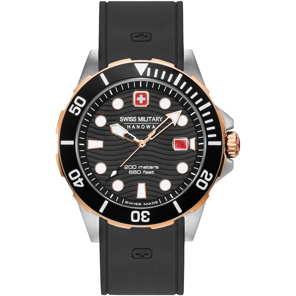 Swiss Military Hanowa Schweizer Uhr »OFFSHORE DIVER, 06-4338.12.007«