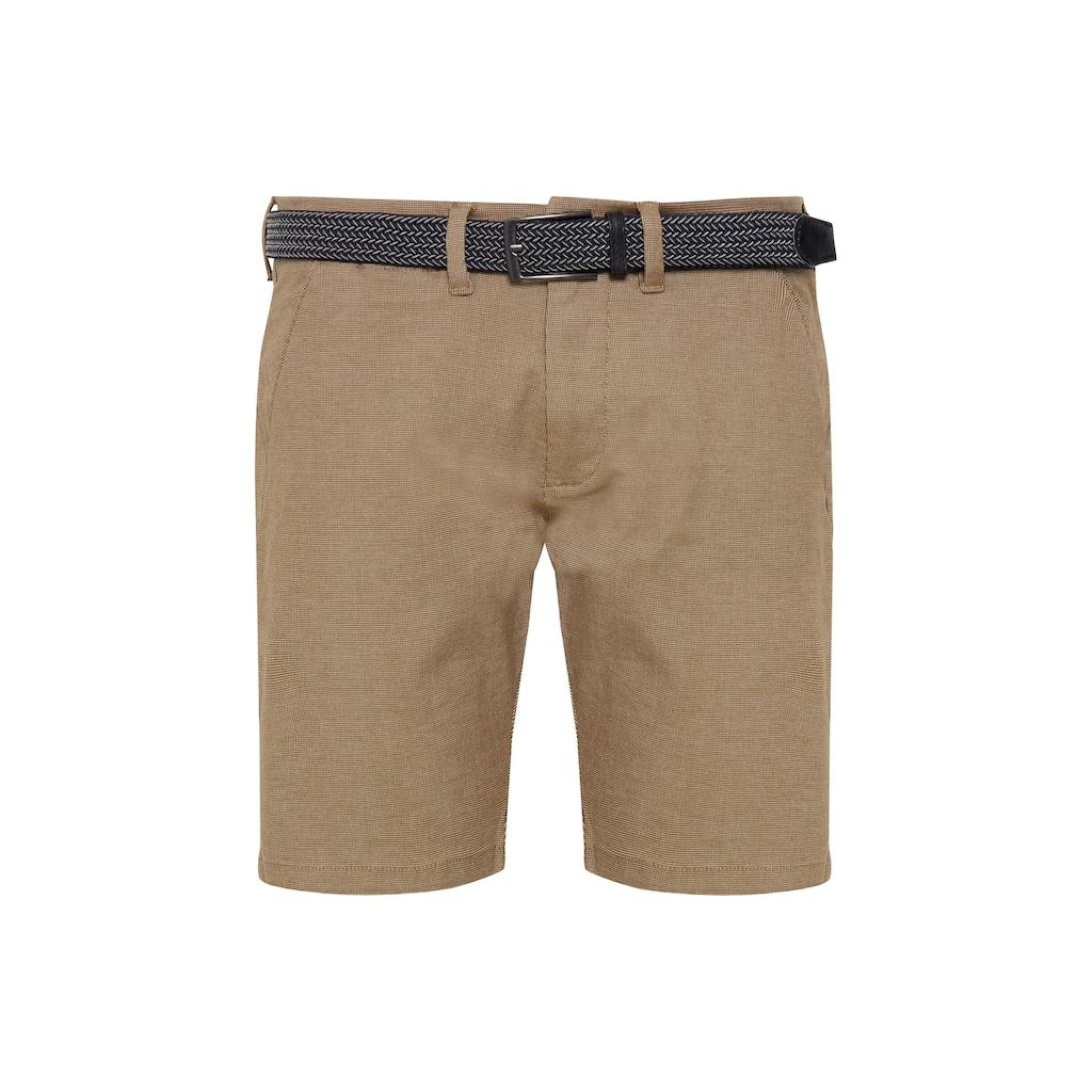 Indicode Chinoshorts »Lozano«, Chino Shorts mit Gürtel