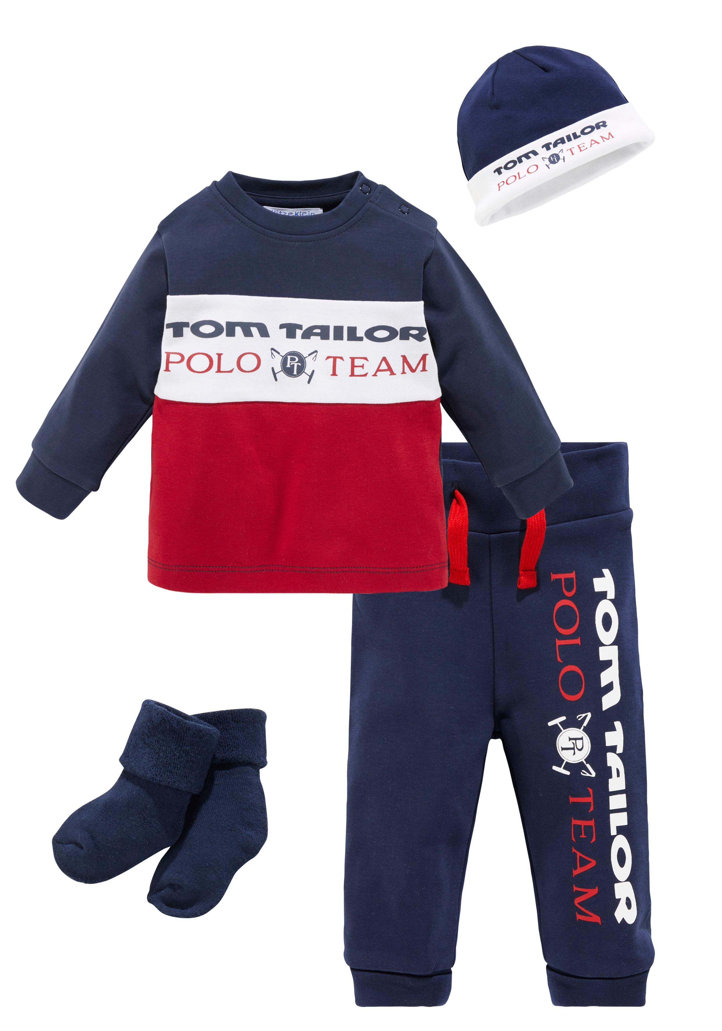 TOM TAILOR Polo Team Neugeborenen-Geschenkset, aus Bio-Baumwolle blau Baby Alle Geschenke Neugeborenen-Geschenkset