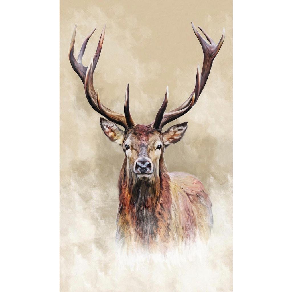 Reinders! Wandbild »Hirsch«