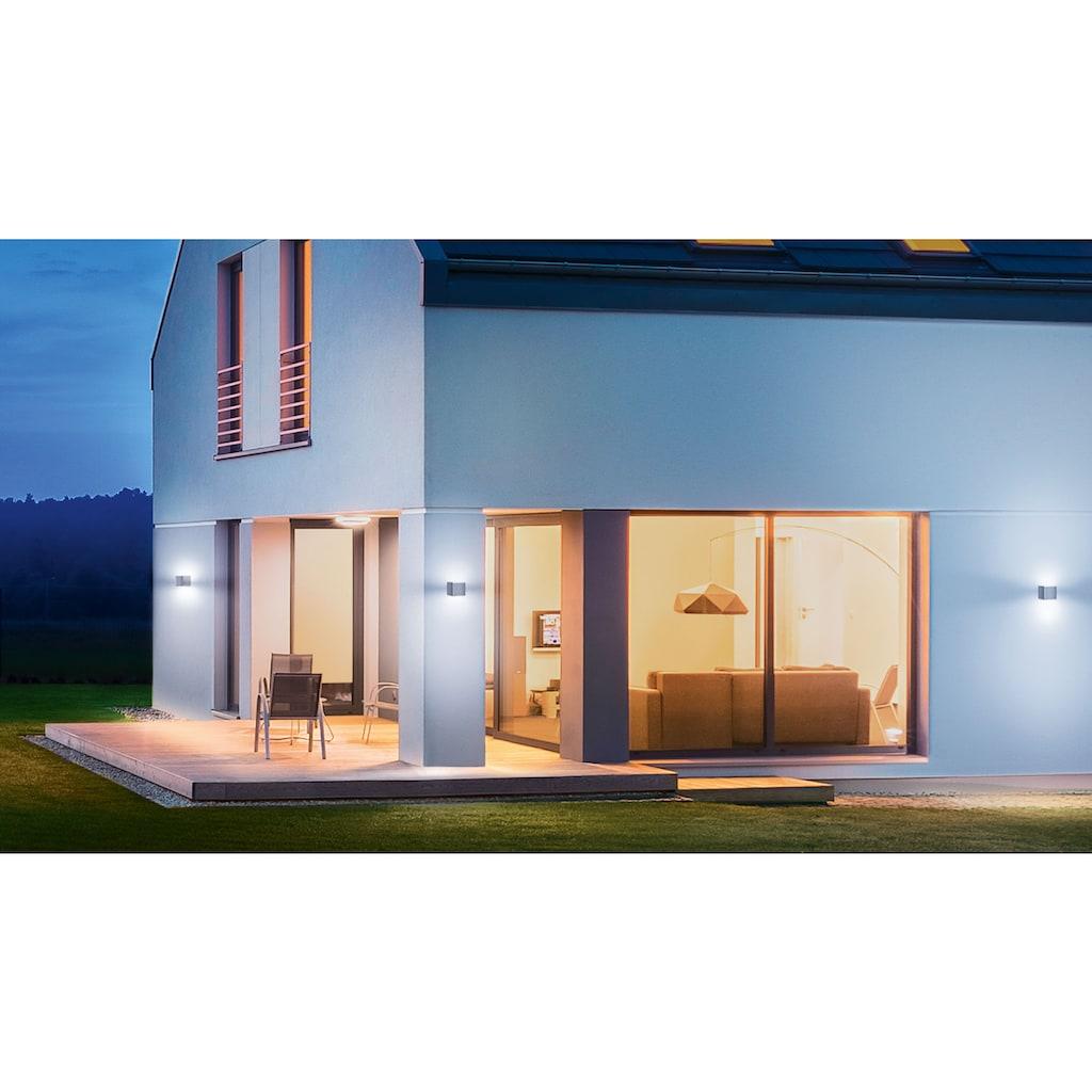 steinel Außen-Wandleuchte »L 830 SC«, LED-Board, 1 St., Warmweiß, 160° Bewegungsmelder, über Bluetooth vernetzbar, Smart Home