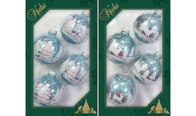 """Krebs Glas Lauscha Weihnachtsbaumkugel """"Winterwald"""" kaufen"""