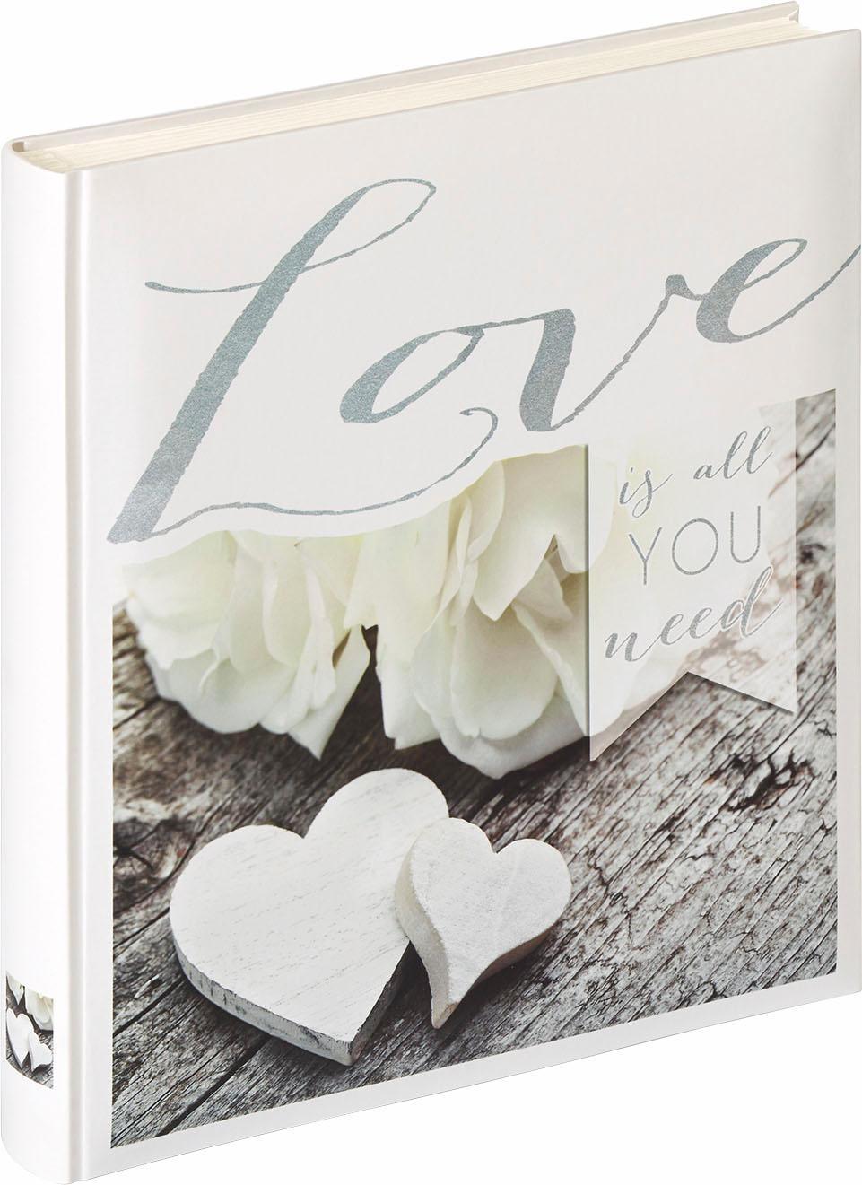 Walther Home affaire Hochzeitsalbum Love is all you need Technik & Freizeit/Technik/Foto, Video & Optik/Zubehör Kameras & Camcorder/Fotoalbum