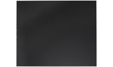 ORANIER Stahlbodenplatte für Kaminöfen »B1«, 100x120 cm, schwarz, zum Funkenschutz kaufen