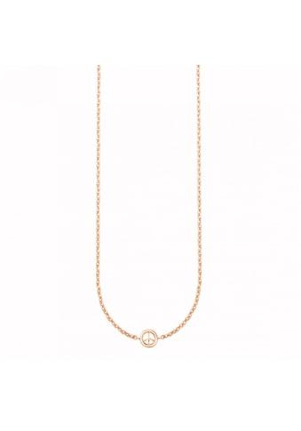 CAÏ Collier »925/- Sterling Silber rotvergoldet Peace« kaufen