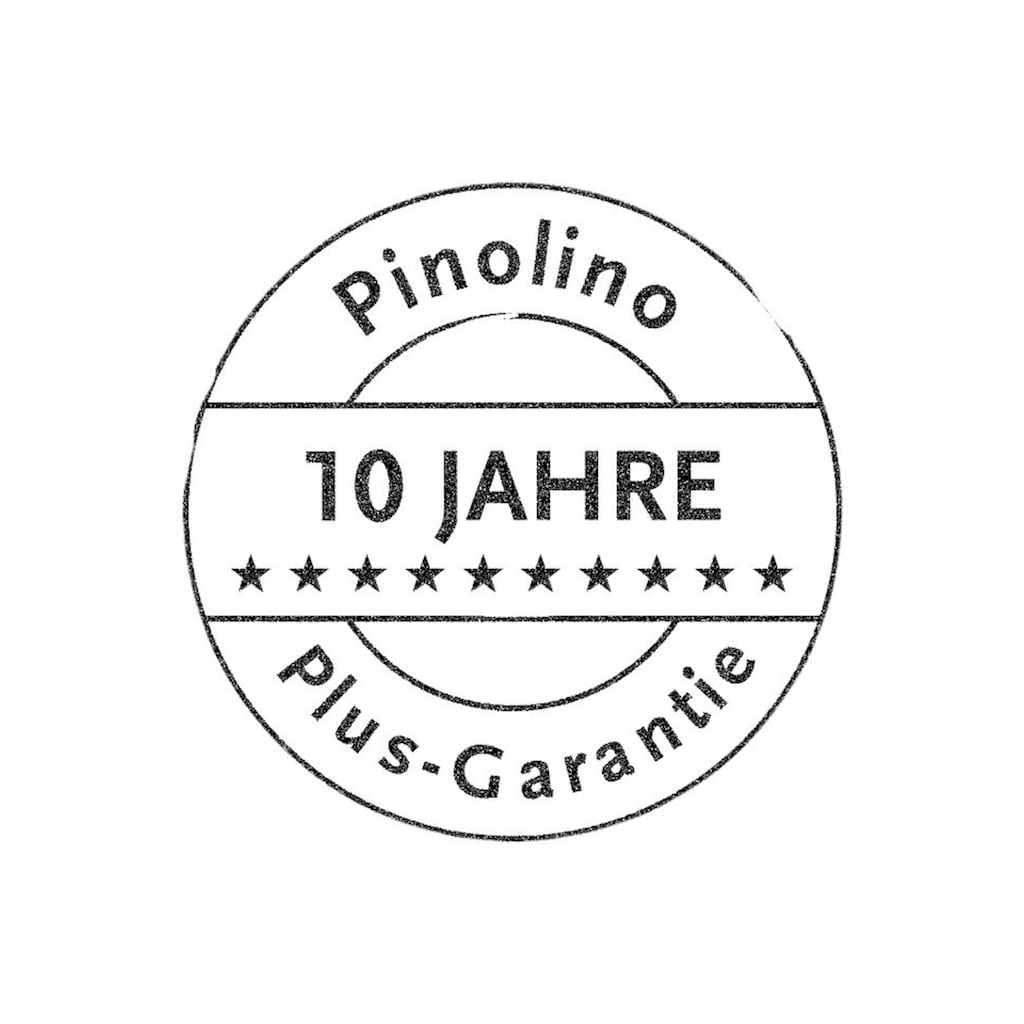 Pinolino® Lauflernwagen »Uli, Natur/Türkis«, aus Holz