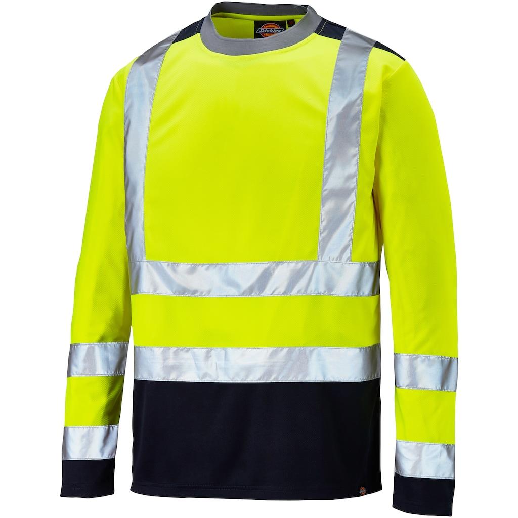 Dickies T-Shirt »Hi-Vis Langarm«, hochsichtbare Warnschutzkleidung