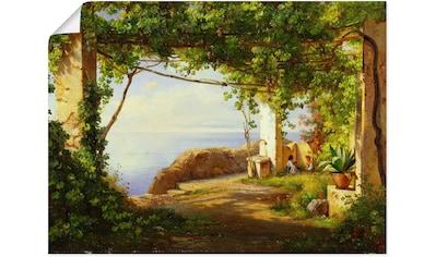 Artland Wandbild »Sorrento. 1875« kaufen