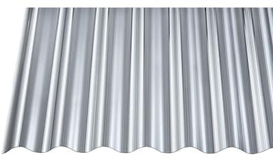GUTTA Wellplatte Polycarbonat anthrazit, BxL: 90x400 cm kaufen