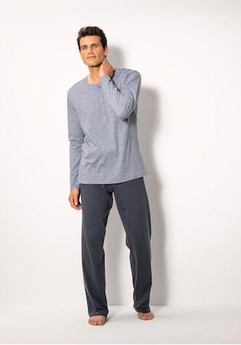 Schiesser Pyjama, mit Knopfleiste kaufen