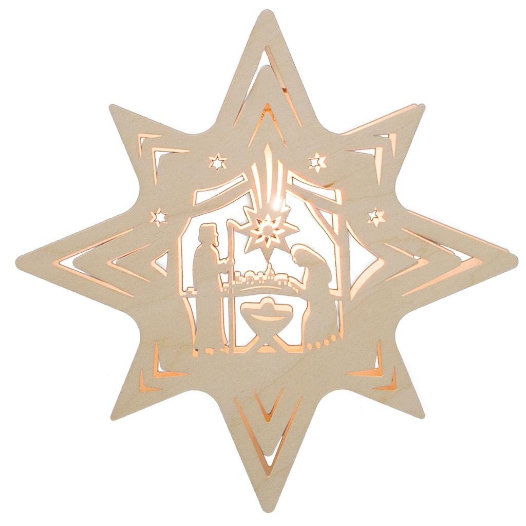 Weigla Beleuchtetes Fensterbild »Christi Geburt«