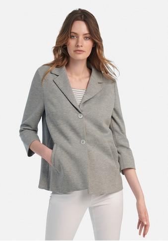 MYBC Sweatblazer »Jersey-Blazer mit 3/4-Arm«, und Falte im Rücken kaufen
