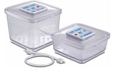 SOLIS OF SWITZERLAND Vakuumbehälter, (2 tlg.), Geeignet für alle Vakuumiergeräte von... kaufen