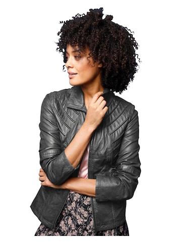 Classic Inspirationen Leder - Jacke aus weichem Lamm - Nappa kaufen