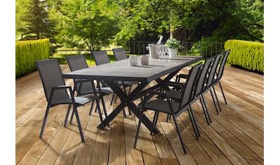 SIENA GARDEN Gartentisch »Sincro«, Aluminium, ausziehbar, 200 - 260x100 cm kaufen