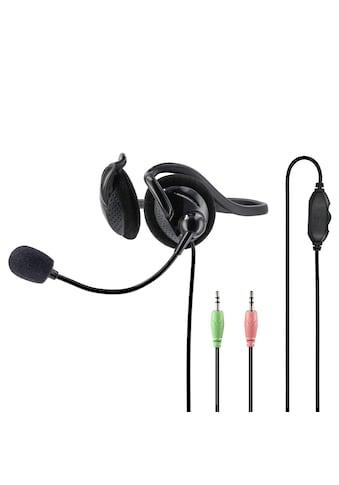 """Hama PC-Office-Headset """"NHS-P100"""" mit Neckband, Stereo, Sch kaufen"""