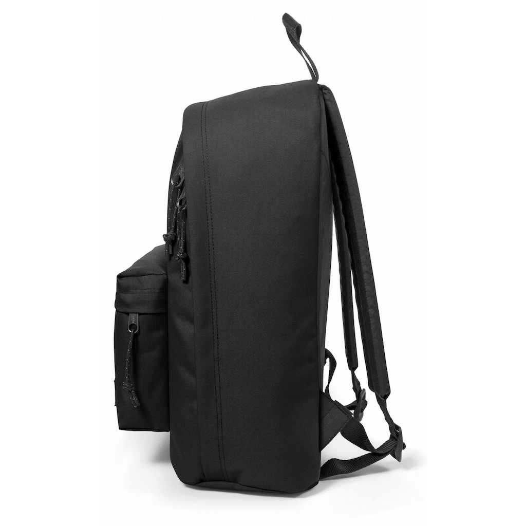 Eastpak Laptoprucksack »OUT OF OFFICE, Black«, enthält recyceltes Material (Global Recycled Standard)