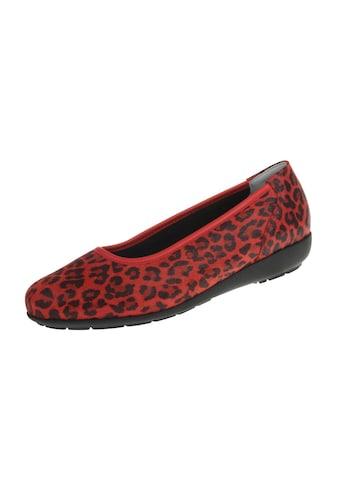 Natural Feet Ballerina »Jasmin«, mit Leopardenprint kaufen