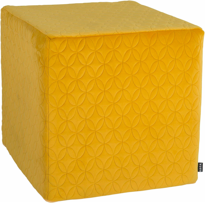 Sitzwürfel, Soft Nobile, H.O.C.K. | Wohnzimmer > Hocker & Poufs > Sitzwürfel | H.O.C.K.