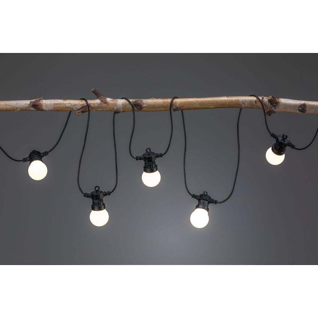 Paulmann LED-Lichterkette »Outdoor Plug & Shine Lichterkette«, 7 St.-flammig