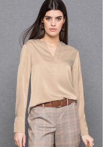 bianca Schlupfbluse »ALEXIA«, im cleanen Look mit raffinierten Details kaufen