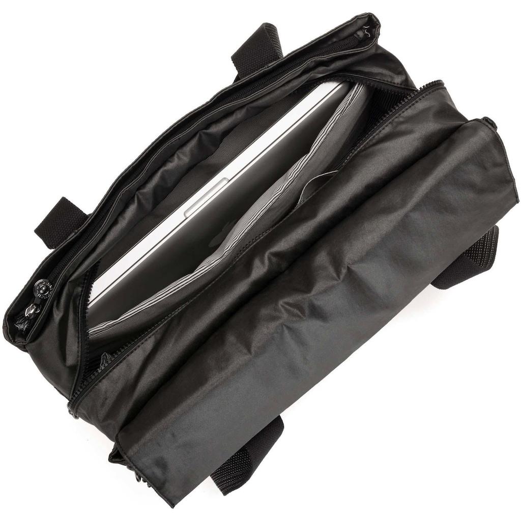 KIPLING Laptoptasche »Perlani, Black metall«