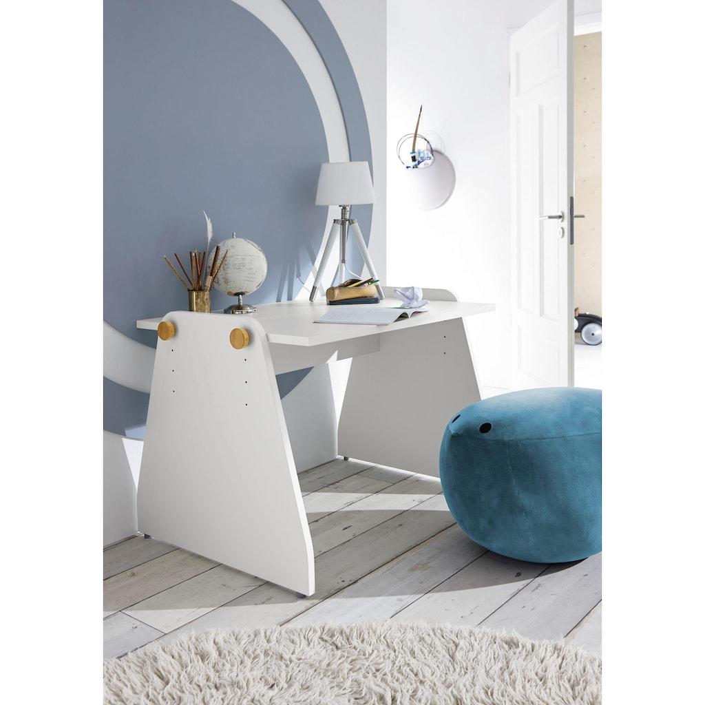 now! by hülsta Kinderschreibtisch »now! minimo«, mit höhenverstellbarer Tischplatte, Home Office für Kids optimal gestaltet