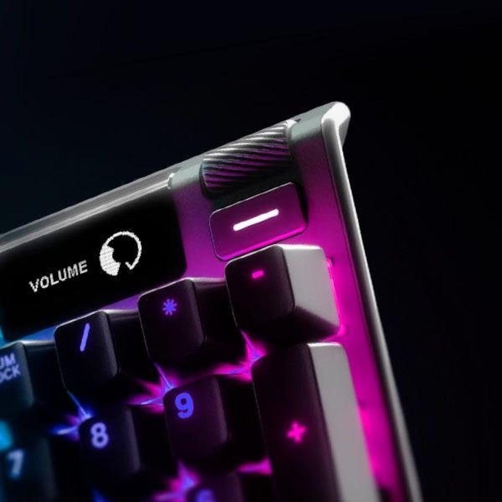 SteelSeries Gaming-Tastatur »Apex Pro Mechanical«, (Smart-Display-Makrotasten-Handgelenkauflage-Multimedia-Tasten-USB-Durchschleife-Anpassbare OmniPoint-Schalter)
